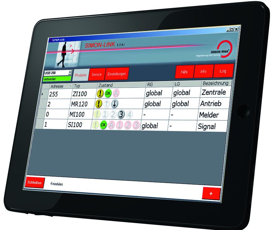 Simon Link® - ein vielseitiges Software-Interface